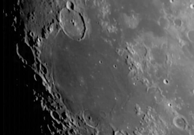 Mond: Mare Humorum mit Krater Gassendi