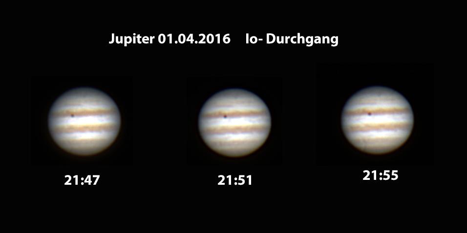 Jupiter Monddurchgang