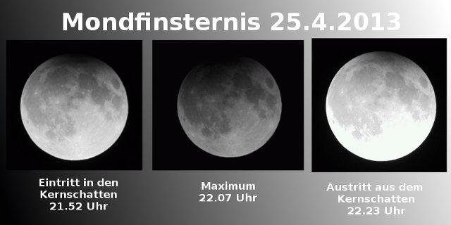 Mondfinsternis 2013