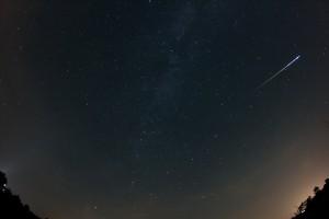 Perseiden-Meteor 13.08.2015