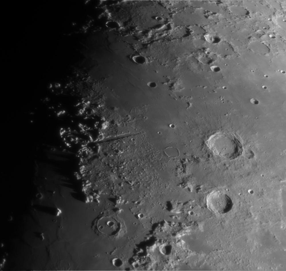 Mond - Vallis Alpes