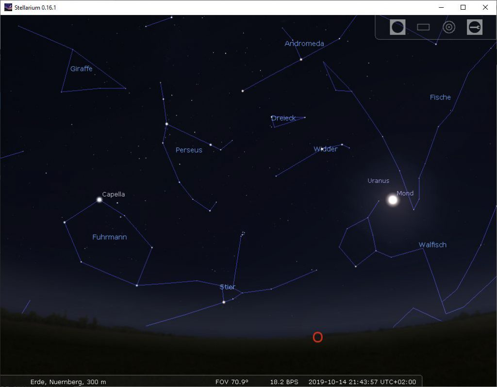 Astronomie-Software: Stellarium (Detail)