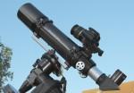 Kamera am Teleskop