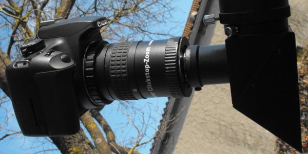 Kamera am teleskop aber wie? wolfgangs gartensternwarte