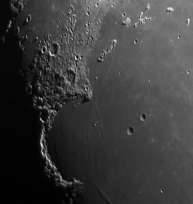 Mond: Sinus Iridum