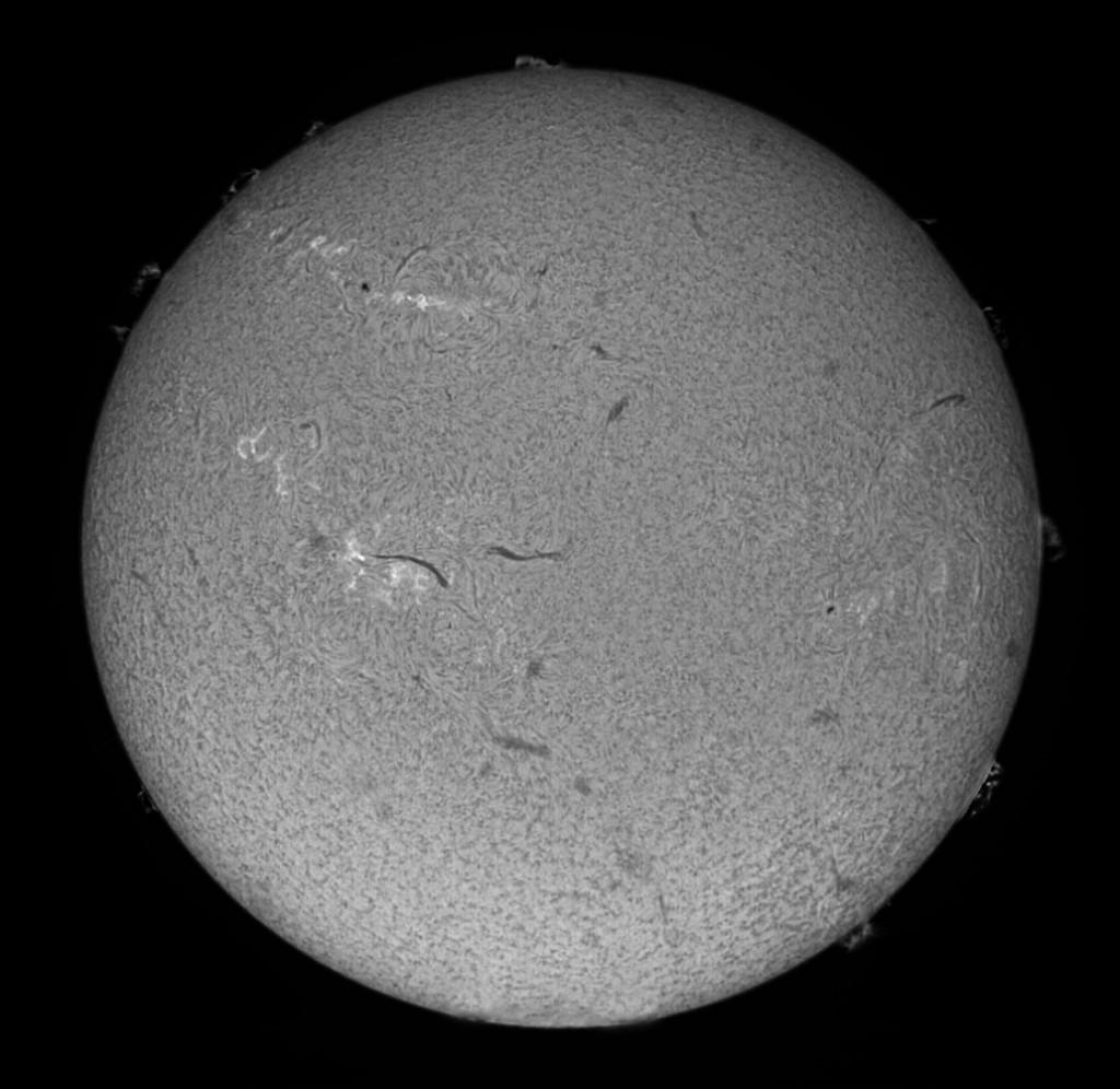 Sonne in H-alpha