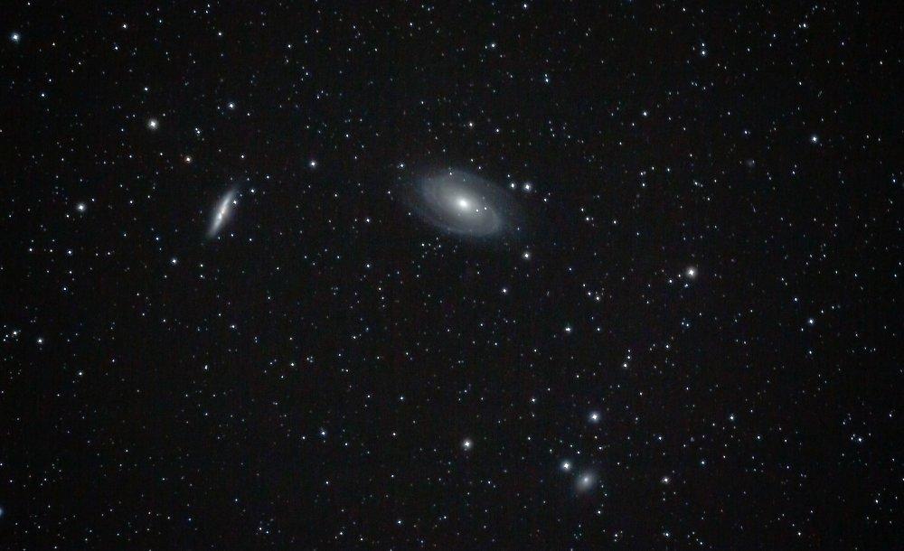 Galaxienpaar M 81 / M 82