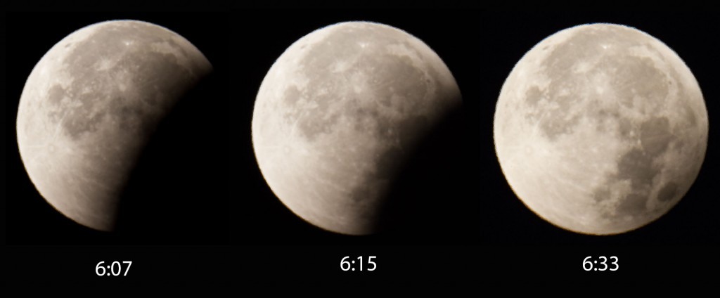 Mondfinsternis 2015 Ende
