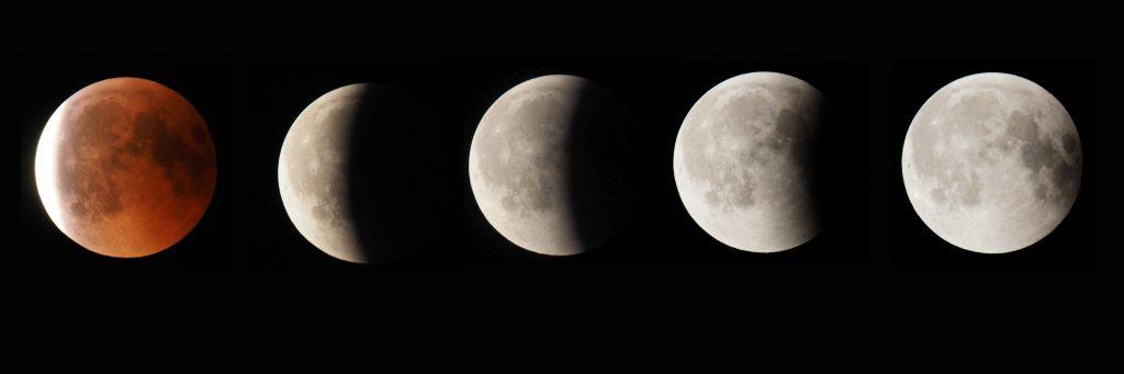 Mondfinsternis 2018 Halbschatten