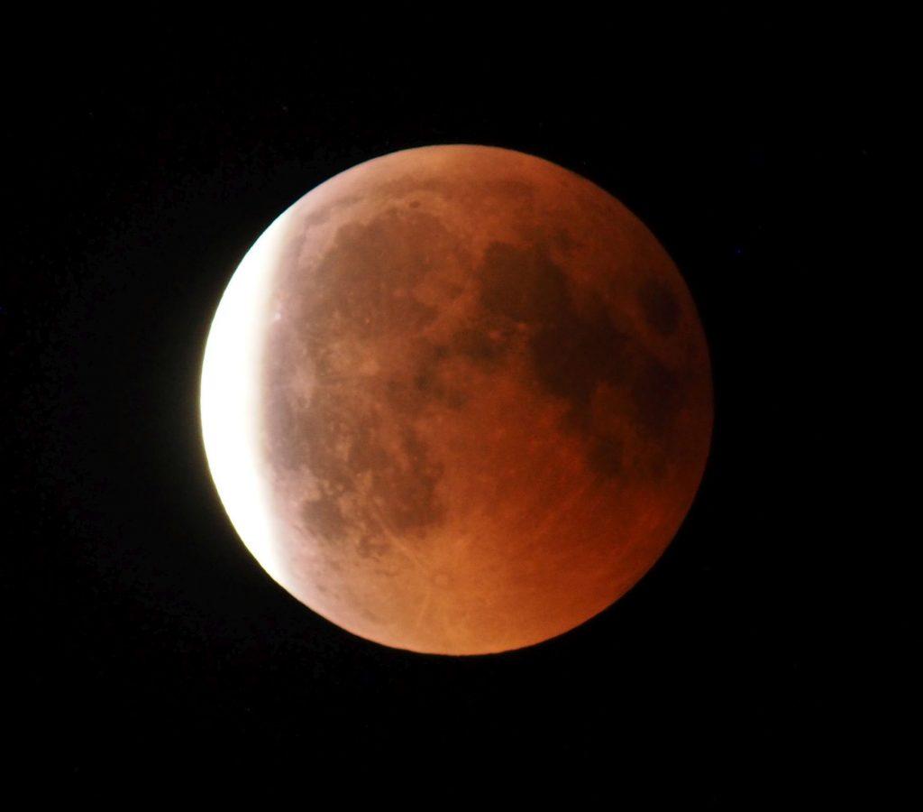 Mondfinsternis 2018 Blutmond